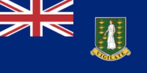 英領ヴァージン諸島の国旗