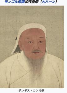 チンギスハンの肖像