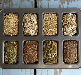 glutenfrie snackrugbrød