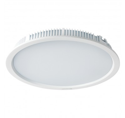 LED PANEL 30W RD 4500K WHITE