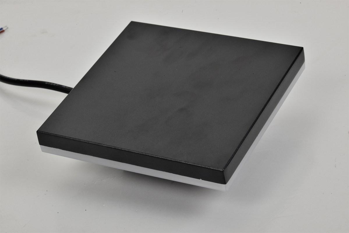 Svet-k 841F 12W BLACK 4000K IP65 (TEKLED) 32sh