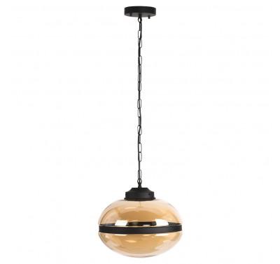 8050-1C E27 40W Amber Glass