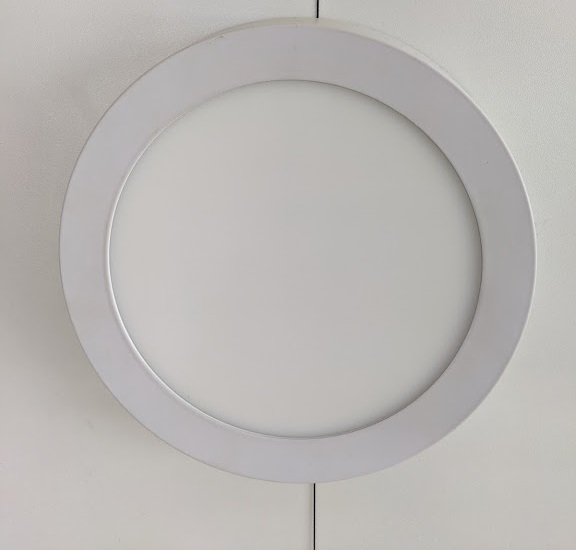 LED Round Panel 12W 6000K Surface /M 30sht