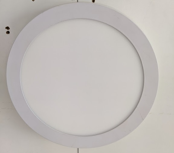 LED Round Panel 18W 6000K Surface /M 30sht