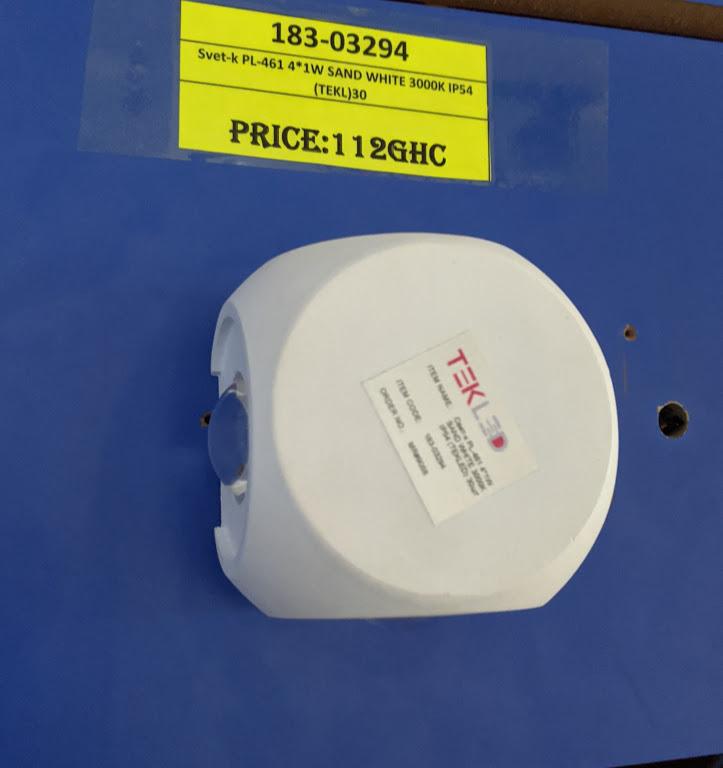 Svet-k PL-461 4*1W SAND WHITE 3000K IP54 (TEKL)30