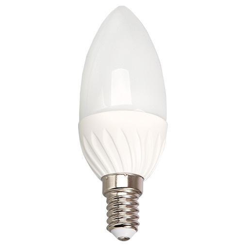 Lampa LED C35 4W 350LM E14 6000K(ECOLITELED)100sht
