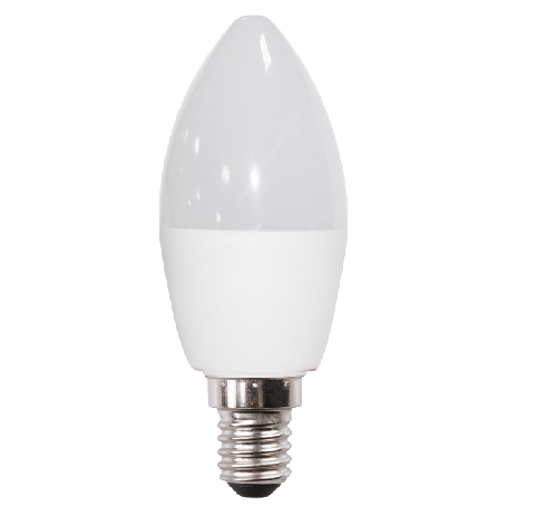 Lampa LED C35 6W 470LM E14 3000KDIMMABLE(TL)100sht