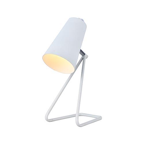Svet-k nastol. HFT0118-1 E14 WHITE (TEKLED) 12sht