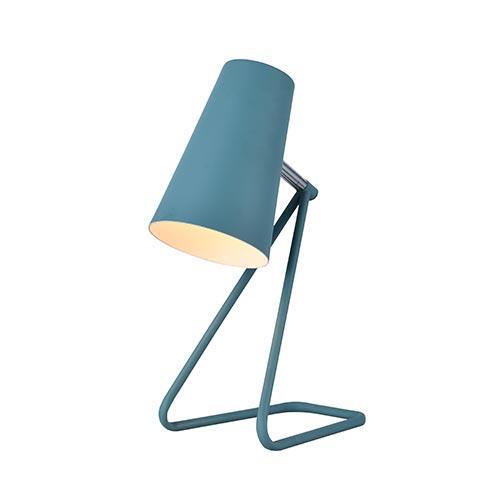 Svet-k nastol. HFT0118-1 E14 BLUE (TEKLED) 12sht