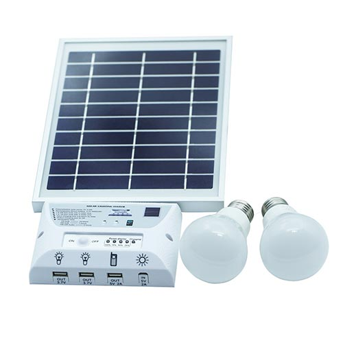 LED SOLAR PANEL TS06082E-PIR 5V/3W 6000K