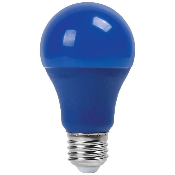 Lampa LED A60 9W NEW E27 BLUE 100-265V (TL)100sht