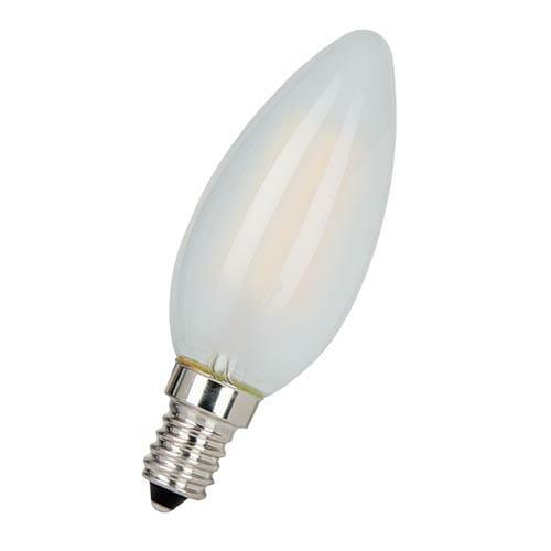 Lampa LED C35 6W E14 RED (TECHNOLIGHT)100sht