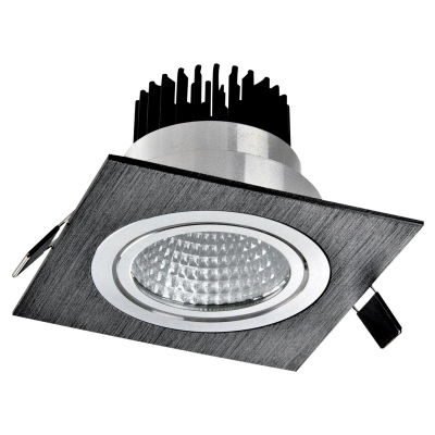 Metal Downlight 1x10W Black