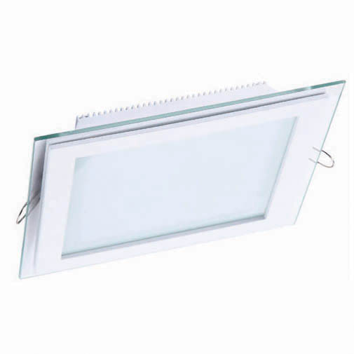 Sv-kDL LED GLASS KVADRO PANEL12W 6000K(TEKL) 40sh