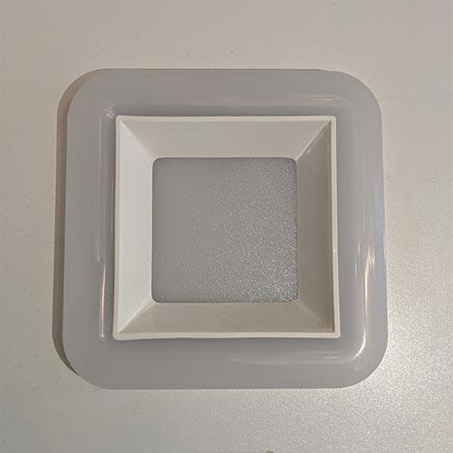 Sv-k DOWNLIGHT LED SQ 10W 3000K WHITE (TEKLED)50sh