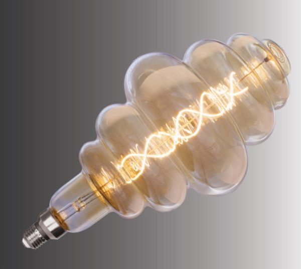 Lampdekorativn CD180 AMBER 7W E27 400LM 2700K(TL)6