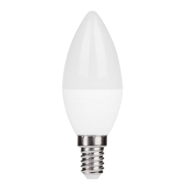 LAMPA LED C37 500LM 6W 3000K E27 (ECOLIGHT) 100pcs