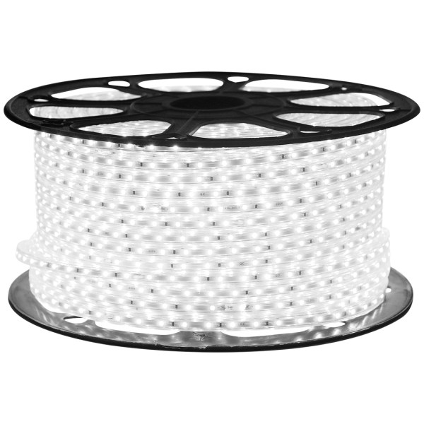 LED STRIP 5050/60 220V White 6.5W/M 18LM/M IP65 (5m)