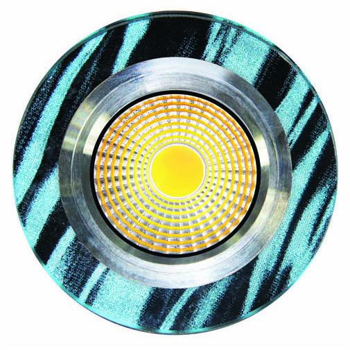 Spot LED QX4-453 ROUND 3W 5000K (TS) 60sht