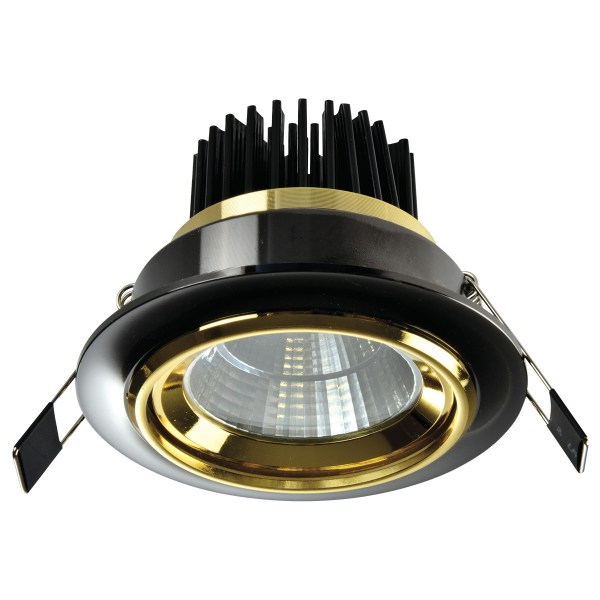 Spot LED OC028 5W BLACK GOLD 5000K (TEKLED) 60sht