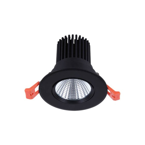 Sv-k DOWNLIGHT LED 2527B 10W BLACK 5000K(TT)50sht