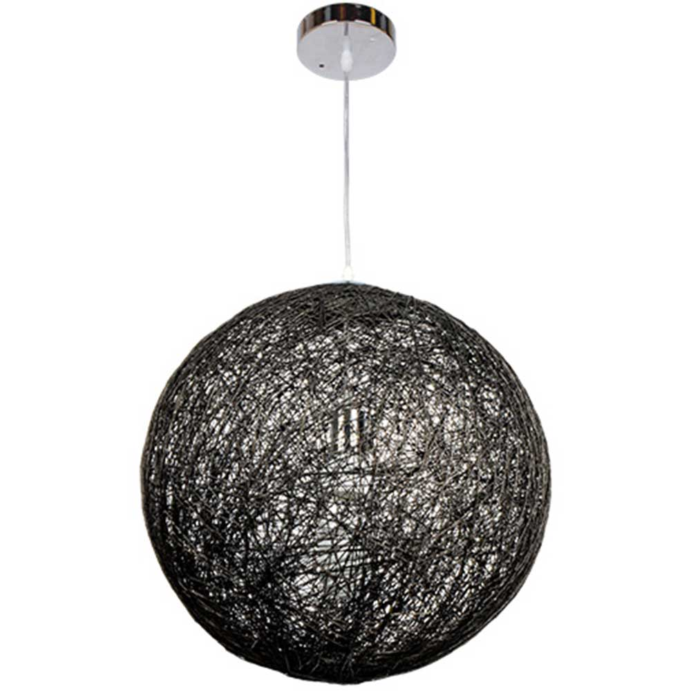 Pendant light MD97909A-1 E27 40W Black