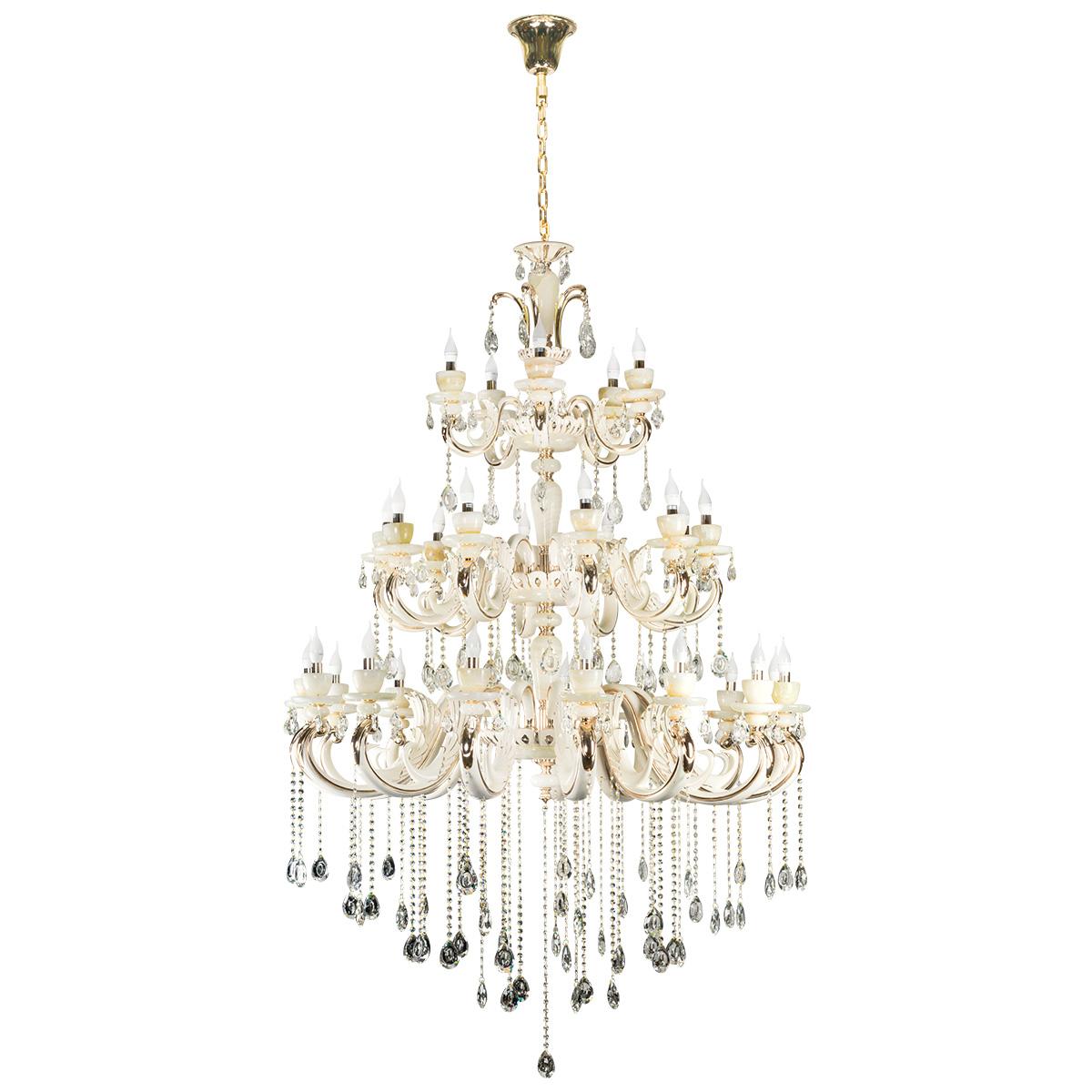 Marble Luxury Grand Chandelier 30xE14