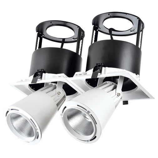 Lighting Fixture DOWNLIGHT LED LS-DK911-2 2x40W 5700K WHITE