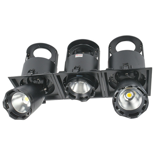 Lighting Fixture DOWNLIGHT LED LS-DK912-3 3x40W5700K BLACK4