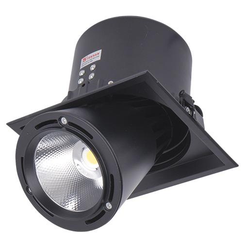 Lighting Fixture DL LED LS-DK913-1 40W BLACK 5700K