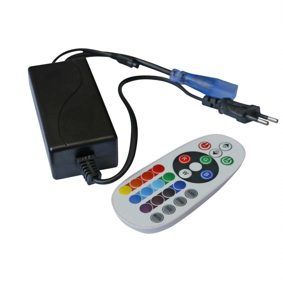 Remote control for  Led Strip 5050-60L 8W 220V RGB
