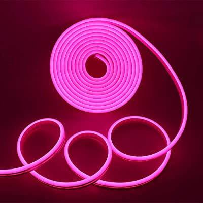 LED Strip Neon Light Pink 6W/M 220V IP65100 Min 5M