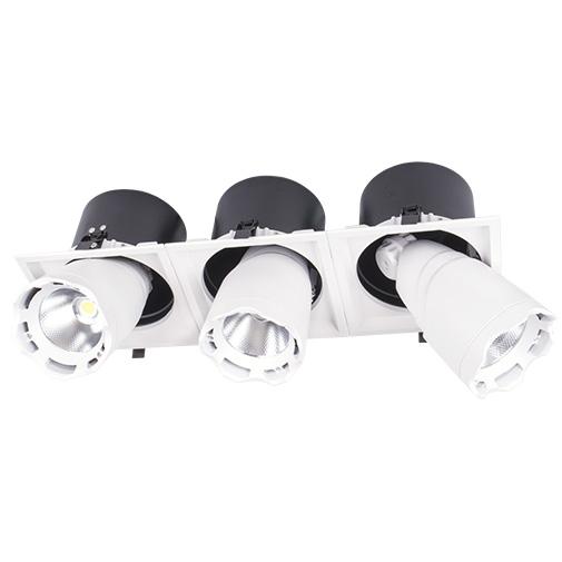 Sv-k DL LED LS-DK914-3 3x40W WHITE 5700K(TS)4sh