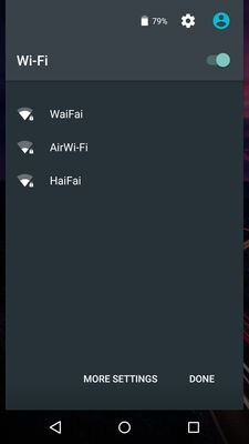 android 5.1 wifi