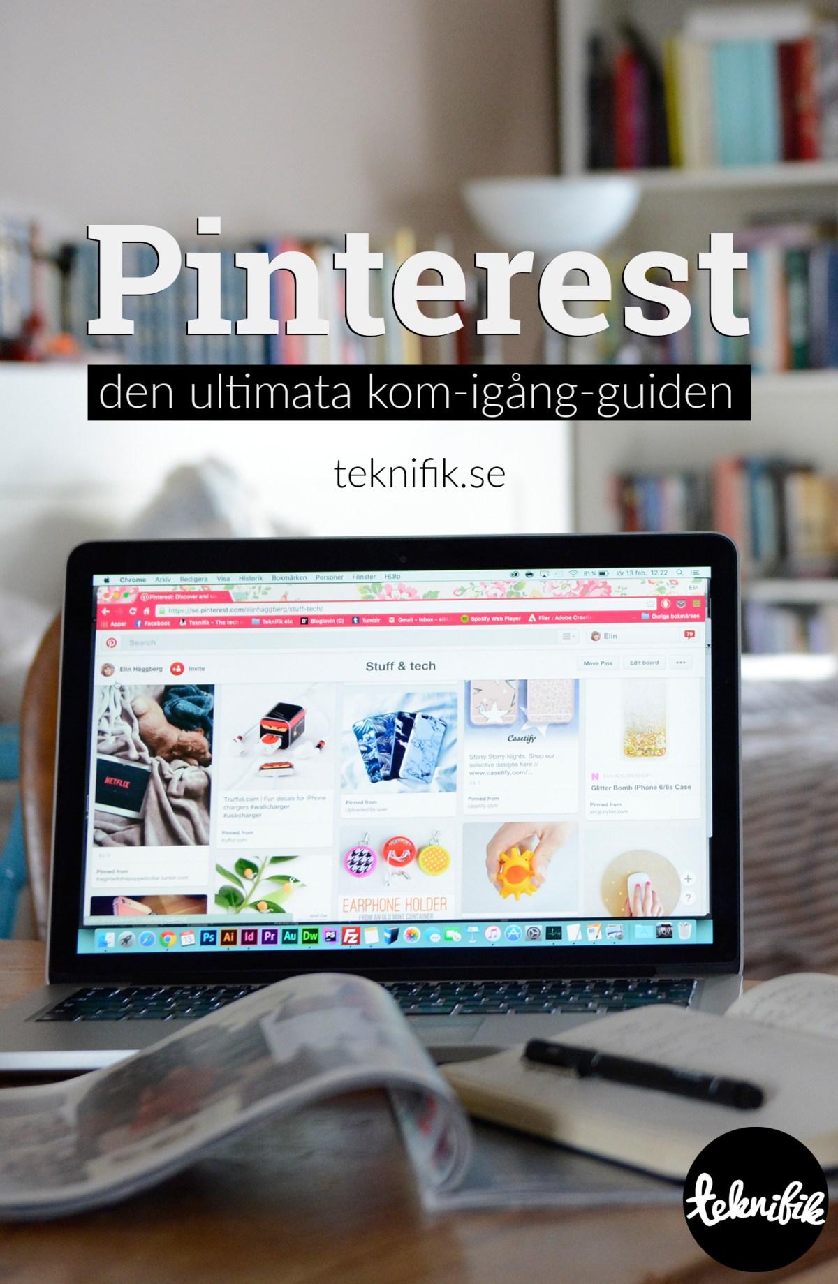 Kom igång med Pinterest snabbt och enkelt med hjälp av denna guide.