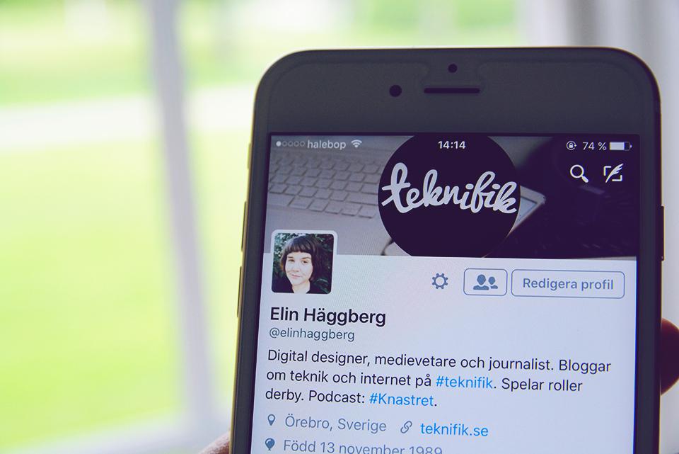 sociala medier bloggare strategi teknifik Elin Häggberg