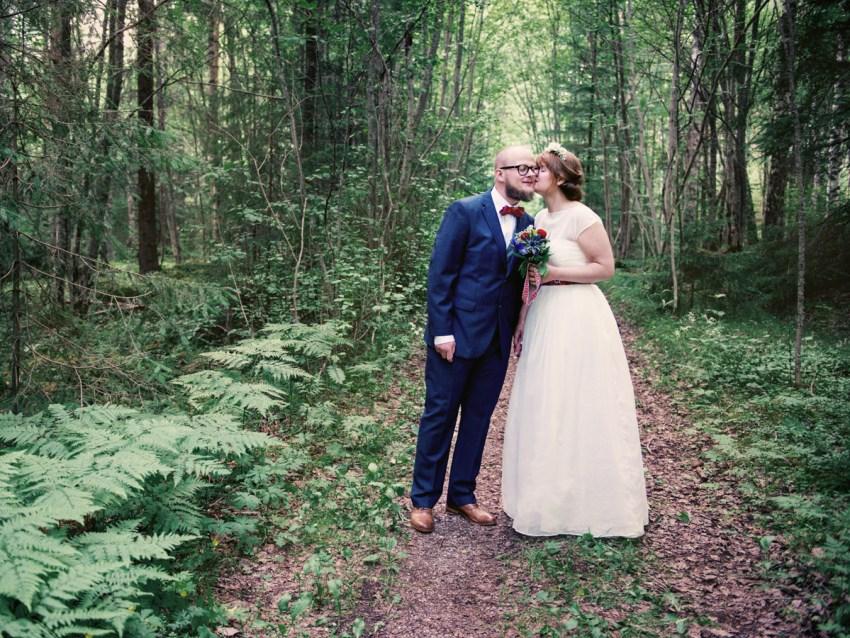 elin och max bröllopsbild