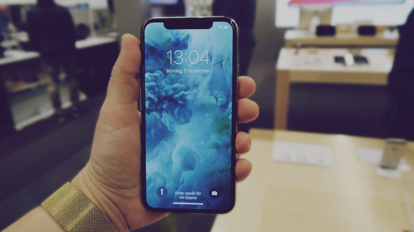 iphone X test