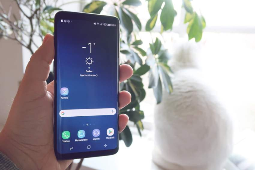 Samsung Galaxy S9 och S9 plus + recension