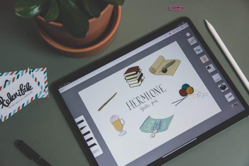 Min andra favoritapp för att rita på iPad är Adobe Draw. Appen är gratis  men du måste registrera ett Adobe-konto (går att ha helt gratis). 3be7e805bc637