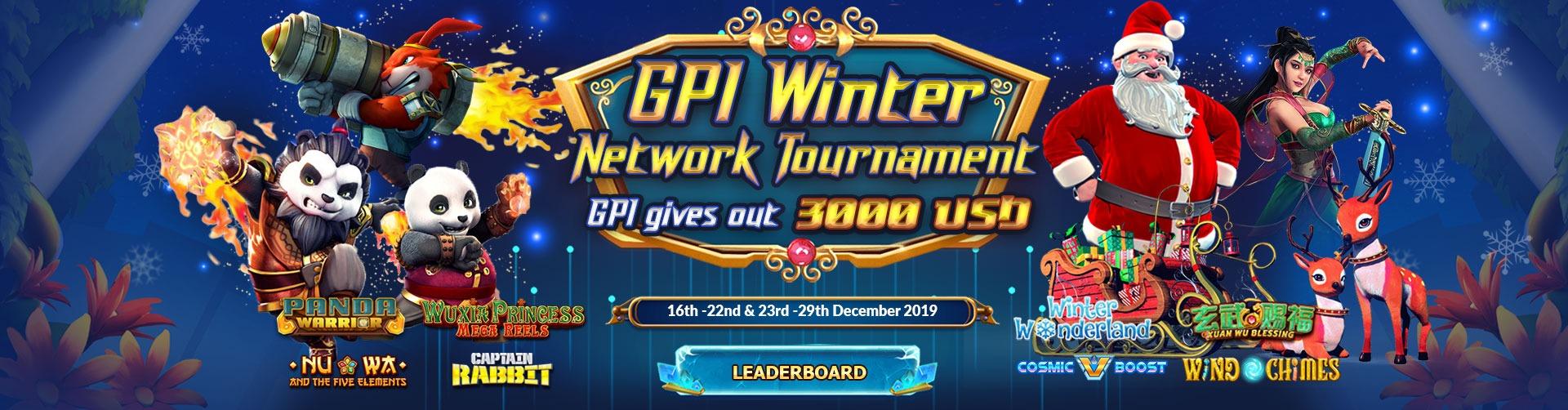 GPI Winter Network Tournament