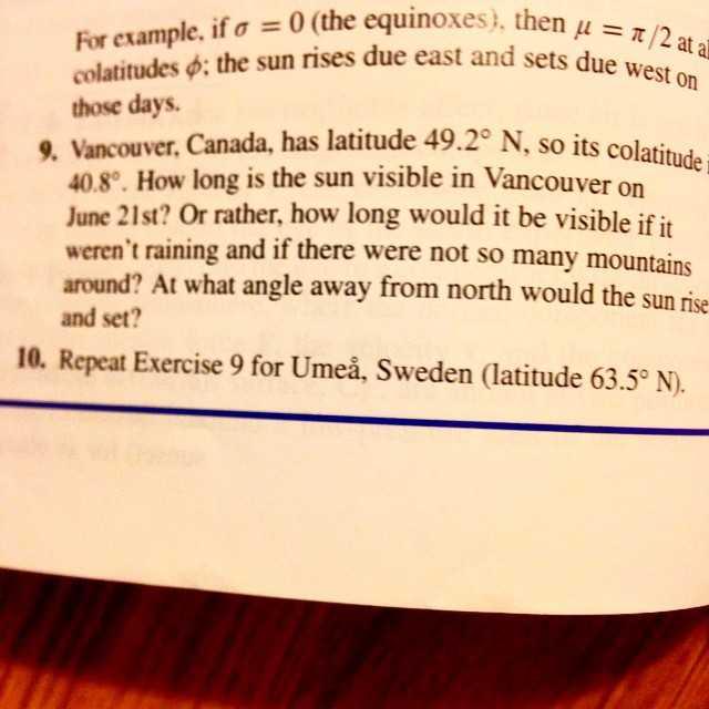 Calculus, allas vår bibel, håller koll på Umeå! #självklart #tekniskfysik