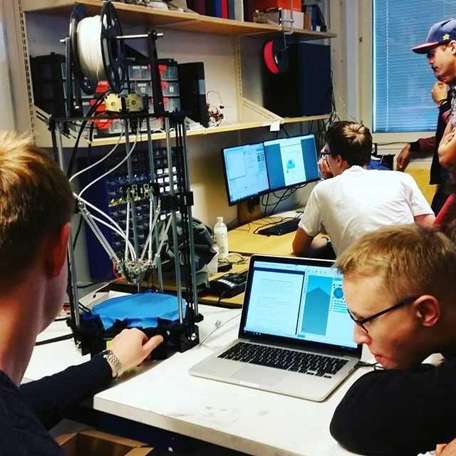 Snart är 3d-skrivarna klara  #tekniskfysik