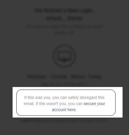 Instagram hesabım çalındı epostam değiştirildi