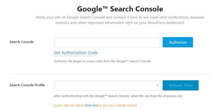 Google Search Console Entegrasyonu