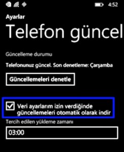 windows phone güncelleme 2