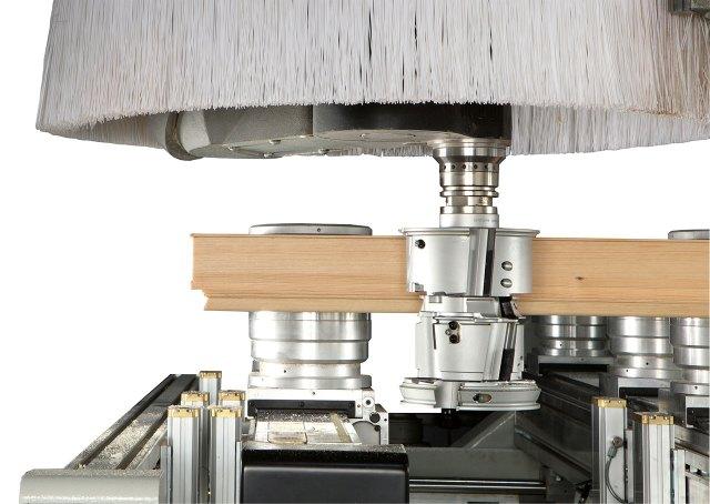 Зажим H110 обрабатывающего центра с ЧПУ ACCORD 42 FX, производство SCM Италия