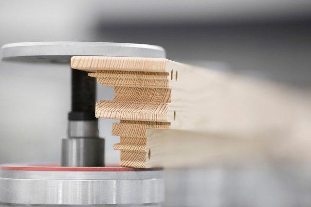 Зажим рабочего стола MATIC станка с ЧПУ SCM ACCORD 40 FX, производство Италия