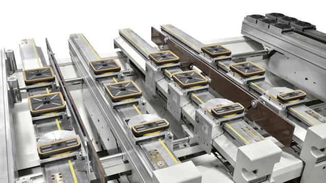 Обрабатывающий центр с ЧПУ Morbidelli M 400, производство SCM Италия, Piano TV-MATIC