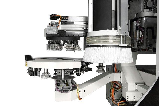 Инструментальный магазин Rapid24 станка с ЧПУ ACCORD 40 FXM, производство SCM Италия